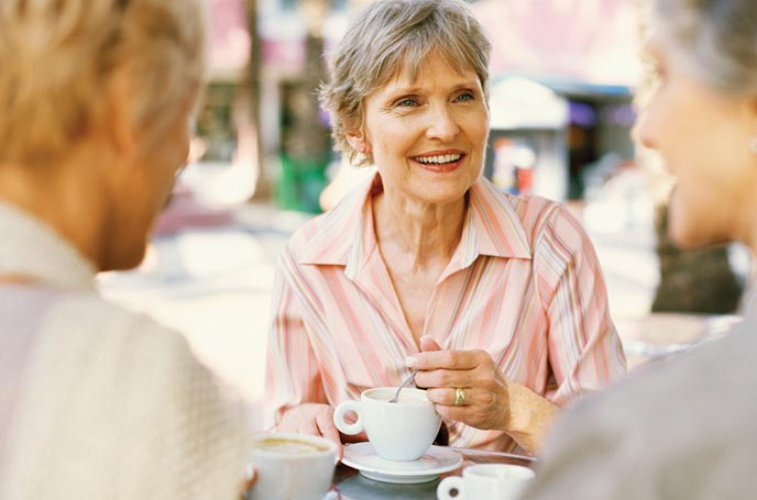 Seniors Coffee & Chat
